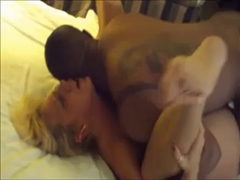 Wife Has too Much Fun with Black Stud Hired for Her
