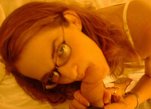 Redhead Girlfriend Sucking Cock First Time Photo