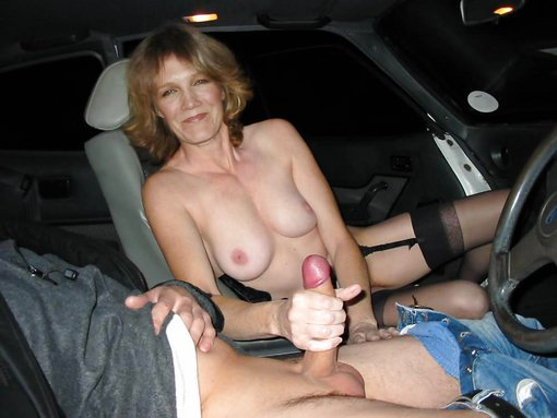 Hand job in the car