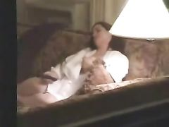 Spying Friends Mom Masturbating on the Couch