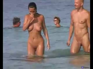 Nudist Sex On The Beach