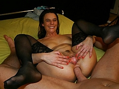 Wife fucking mother cougar horny
