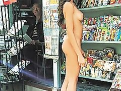Sexy Girl Totally Nude in Public