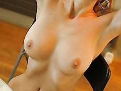 Hot Nude Woman with Beautiful Tits