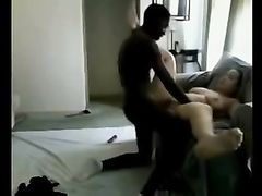 Brunette Girl Fucked by Black Guy
