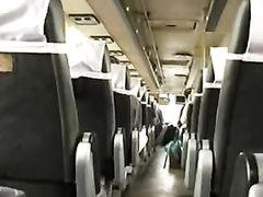 Woman Masturbates in Public Transport