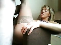 Mature Blonde Escort Sex and Oral Blowjob