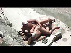 Mature Couple Sex on the Beach