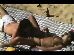 Mature Amateur Couple Sex on the Beach
