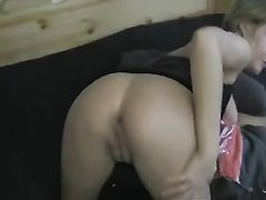 Horny Woman Fisting Her Ass
