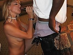 Interracial Photo Blonde Mom Sucks Black Cock